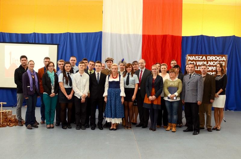 Sztafeta Pamięci Łowczówek - Zakliczyn 2013