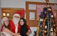 Spotkanie z Mikołajem w internacie