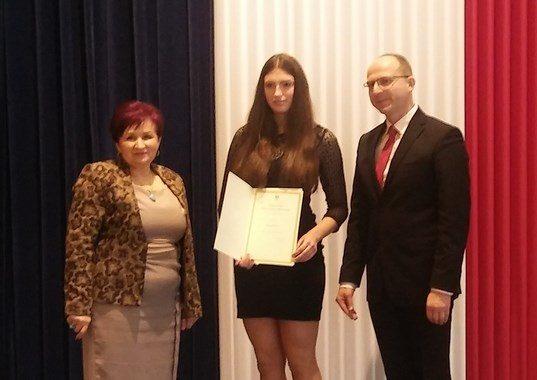 Stypendium Prezesa Rady Ministrów dla Kseni Kras