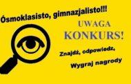 Uwaga – KONKURS!!!