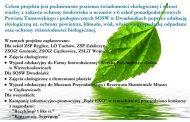 """Informacje o projekcie """"Bądź EKO – kształtowanie postaw proekologicznych wśród uczniów II"""""""